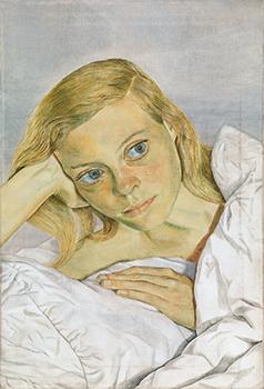 Chica en la cama, 1952