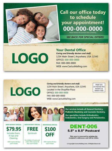 General Dental Postcards