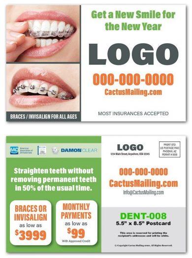 Orthodontic Postcards