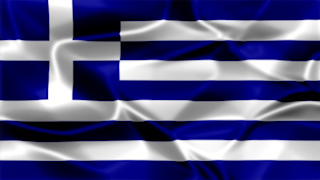 Greece Silky Flag Graphic Background