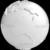 Stylized White Planet Earth Globe Showing Australia