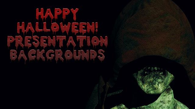 Halloween Presentation Backgrounds
