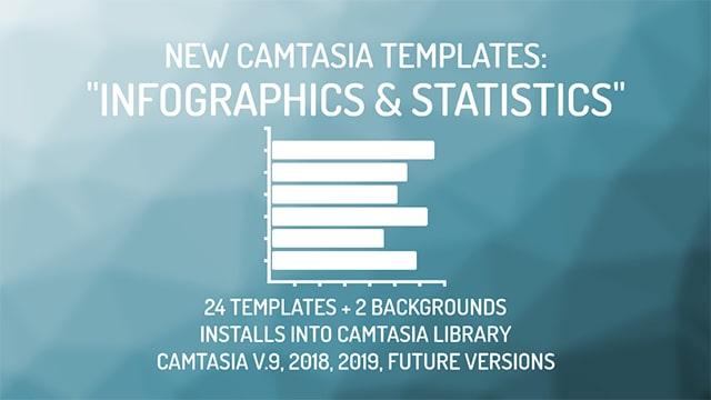 Camtasia Infographics and Statistics Templates