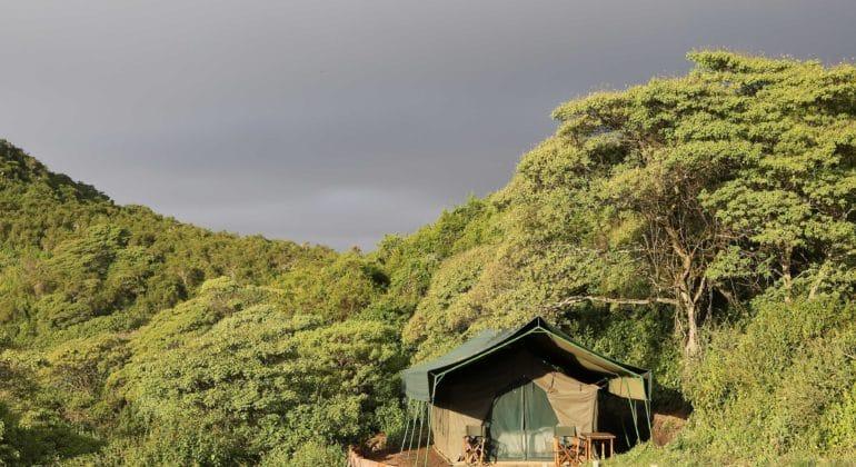 Gelai Mountain Camp Tent