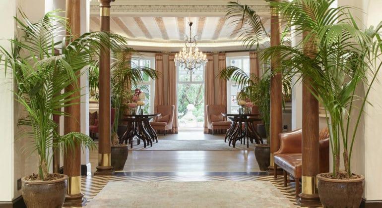 Belmond Mount Nelson Hotel Reception 1
