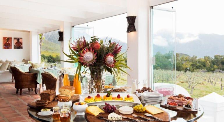 Galenia Estate Breakfast
