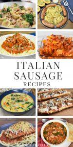 Italian Sausage Recipes Pin