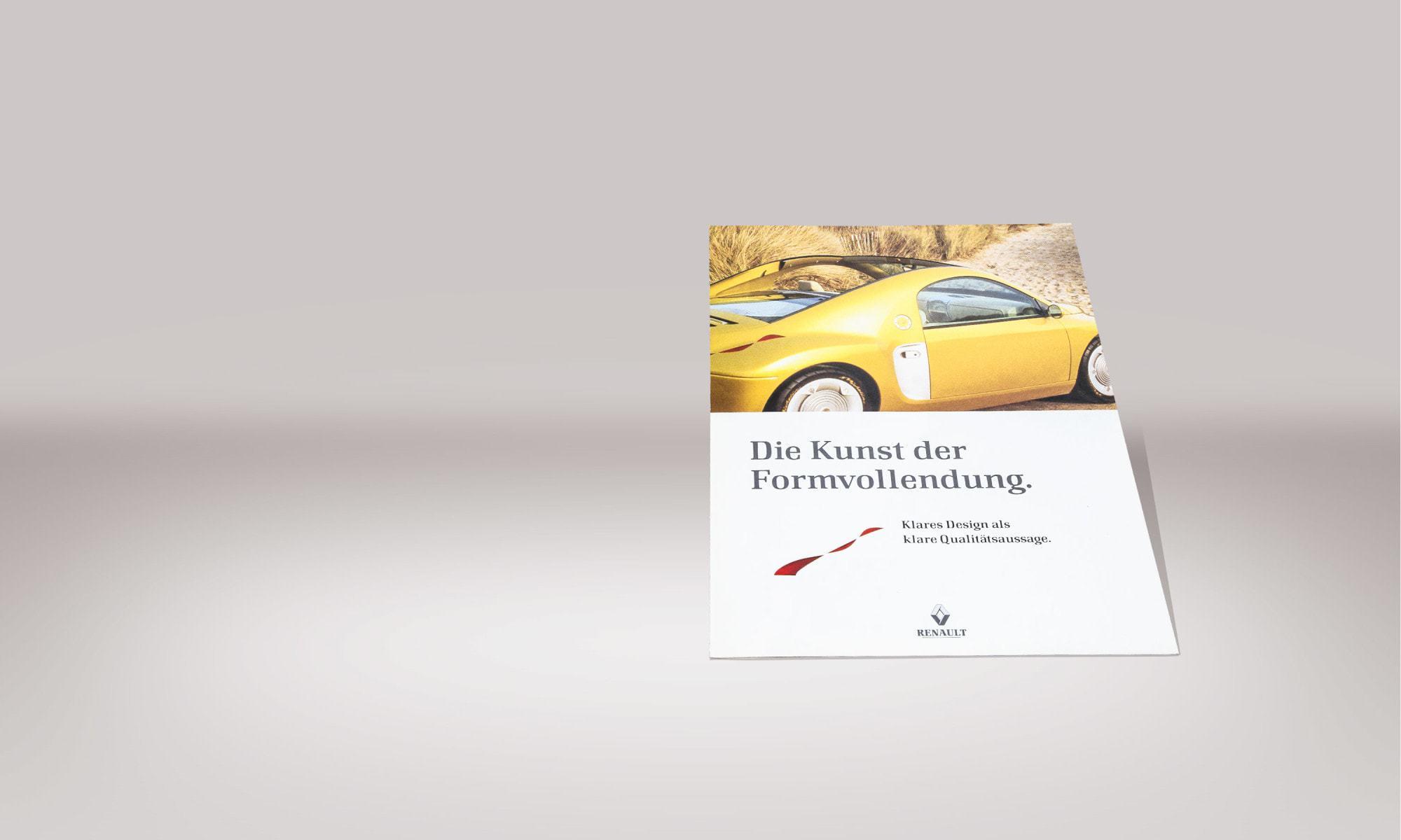 Renault Deutschland AG – Modelprospekt