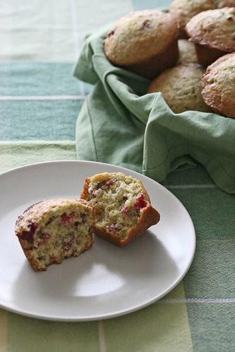 Oh Saint Muffin! – Cranberry-Orange Muffins