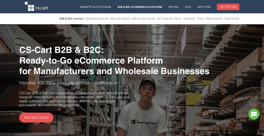 CS-Cart B2B eCommerce script