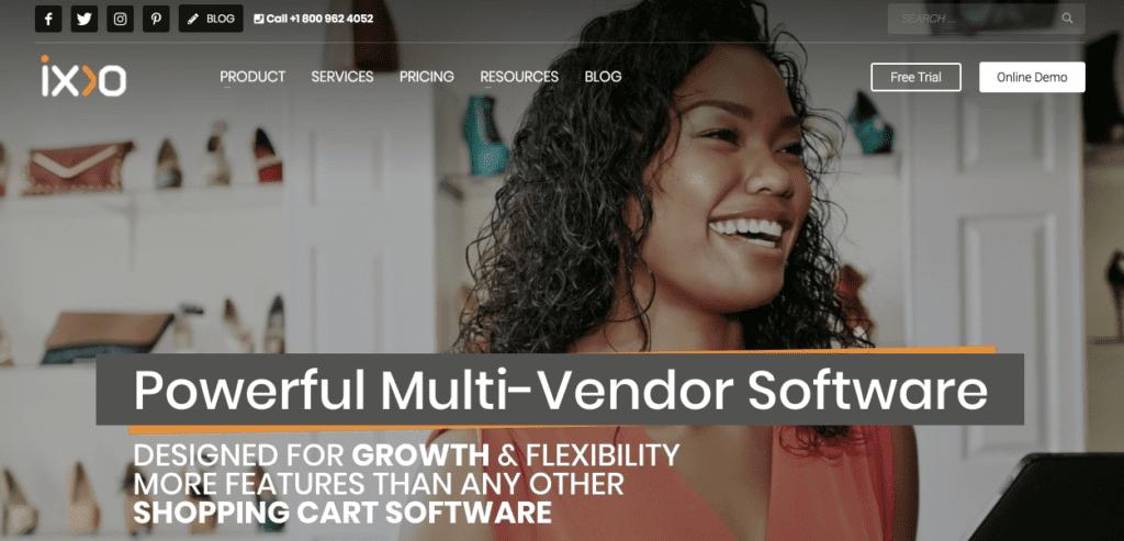 IXXO multi-vendor software solution