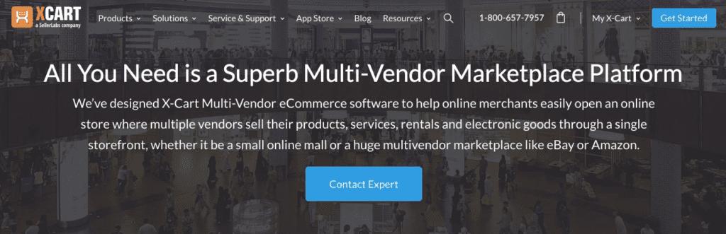 x-cart multi vendor cms