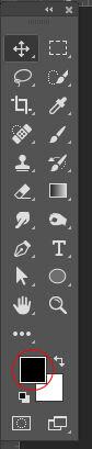 Photoshop toolbar
