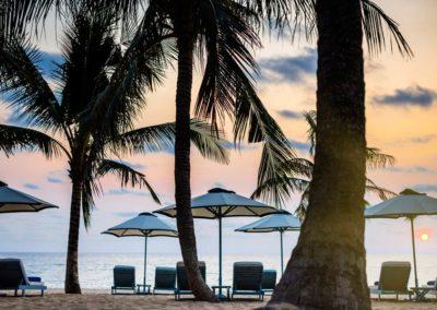 Privatstrand des Luxushotels in Vietnam: La Veranda Phu Quoc