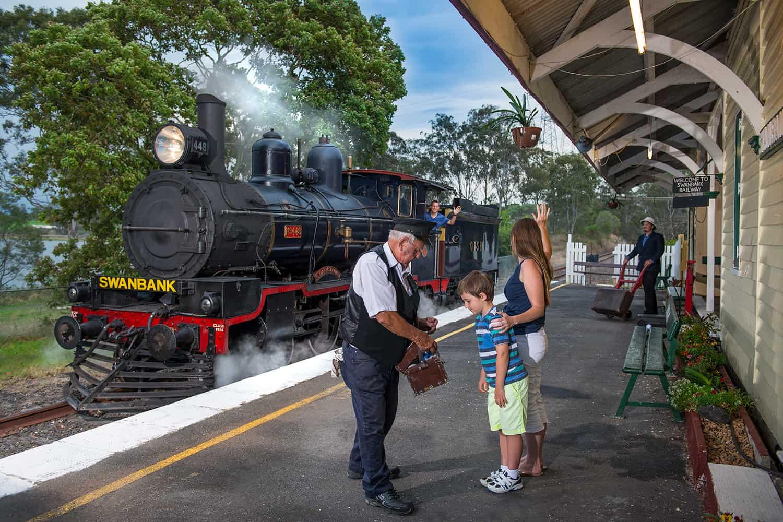 Queensland Pioneer Steam Railway | Ipswich