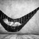 Newborn in a hammock
