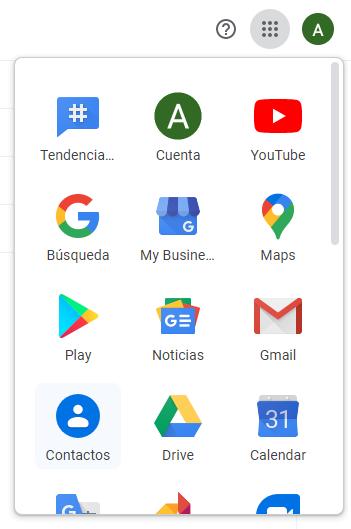 Acceder a Contactos de Google