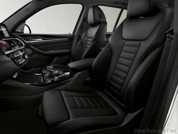 BMW G01 X3 M Interior