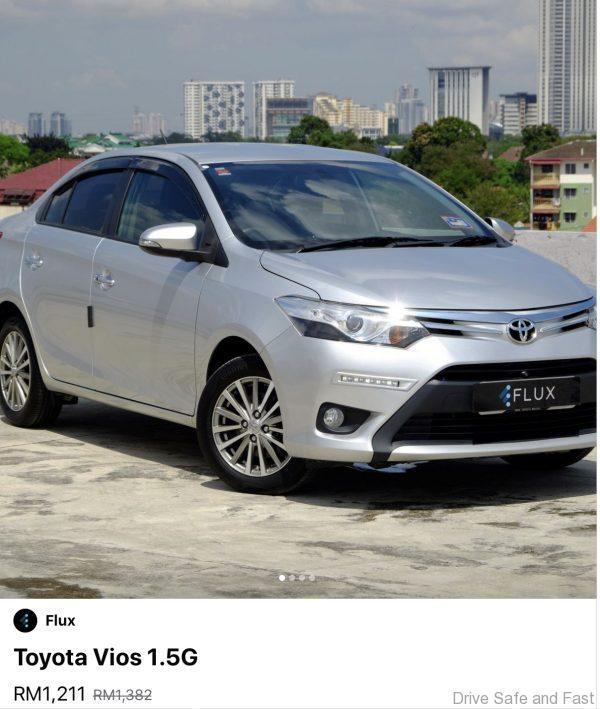 Toyota Vios Flux Discount March 2020