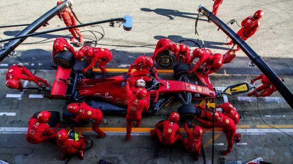 2020 Ferrari Formula 1 team
