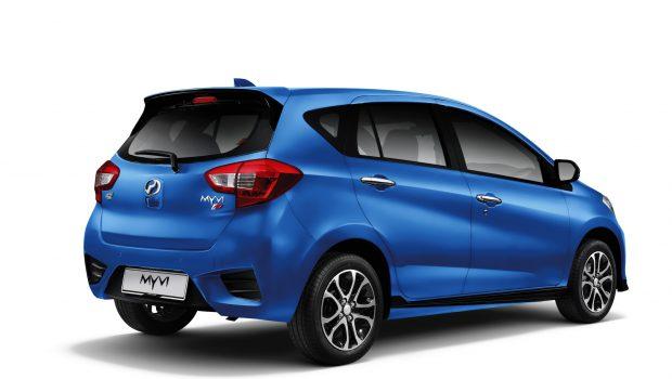 Perodua Myvi Blue_2020