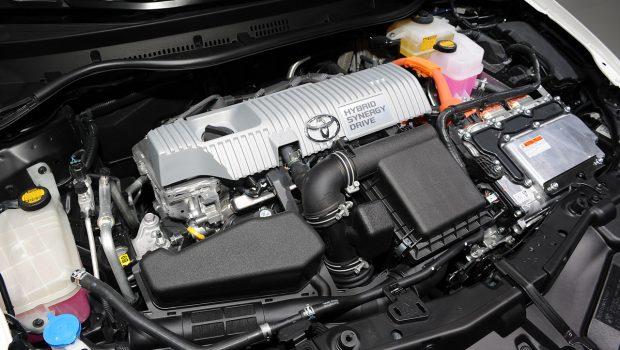 Toyota Hybrid Car Engine