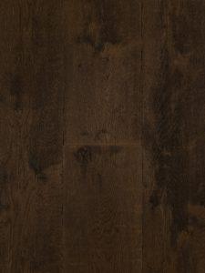 Deze verouderde bruine houten vloer is van Europees eiken