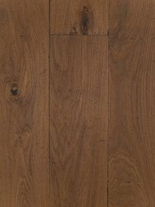 Op deze foto zie je een Castle grey houten vloer