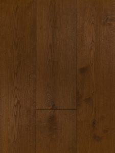 Deze licht bruine houten vloer is geschikt voor vloerverwarming.