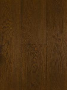 Verouderde bruine eiken vloer met 15 jaar garantie