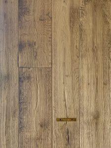 Deze old factory houten vloer is gemaakt uit oude planken