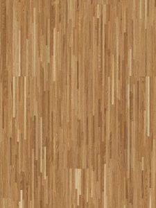 Deze hoogkant eiken vloer heeft planken van 2.20 lang en 14mm dik.