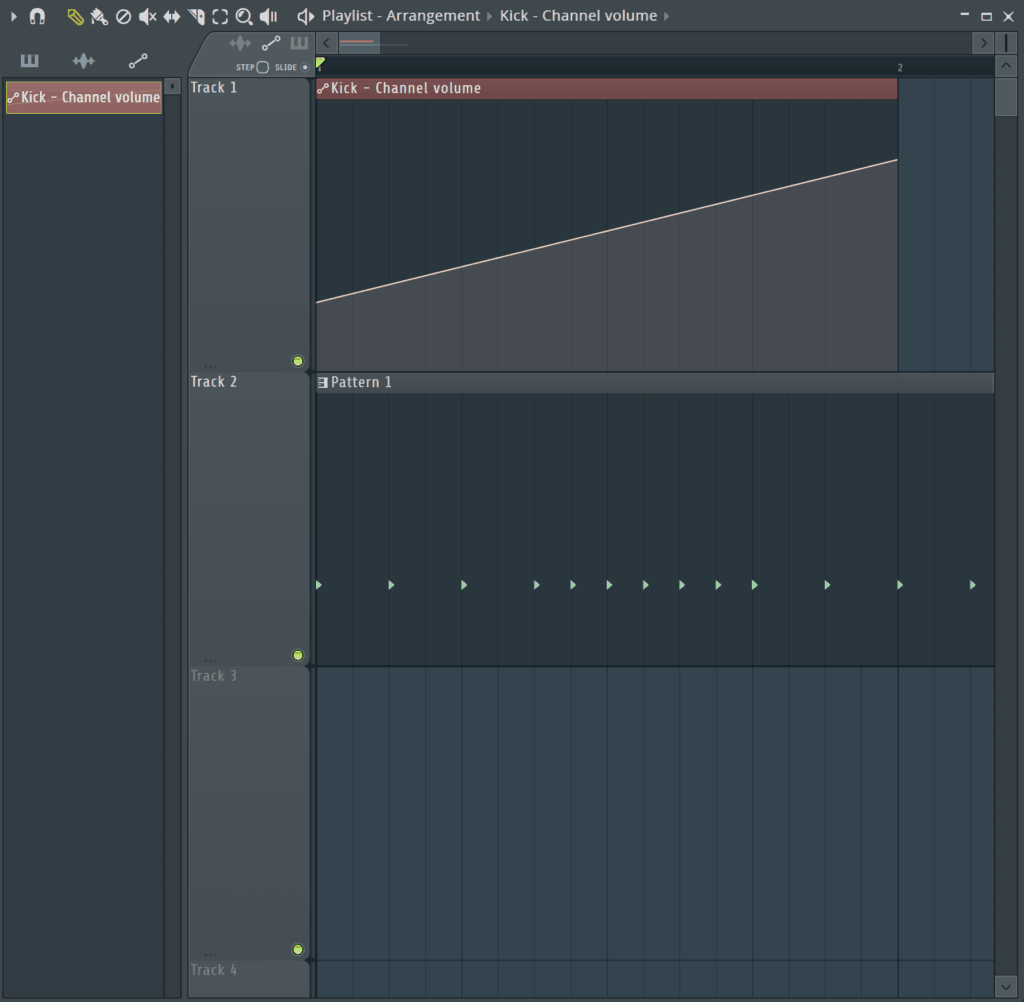 Automation on Kick in FL Studio