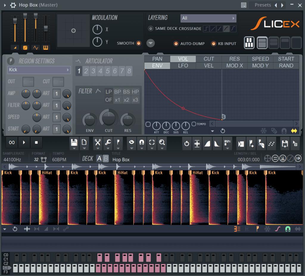 FL Studio Slicex