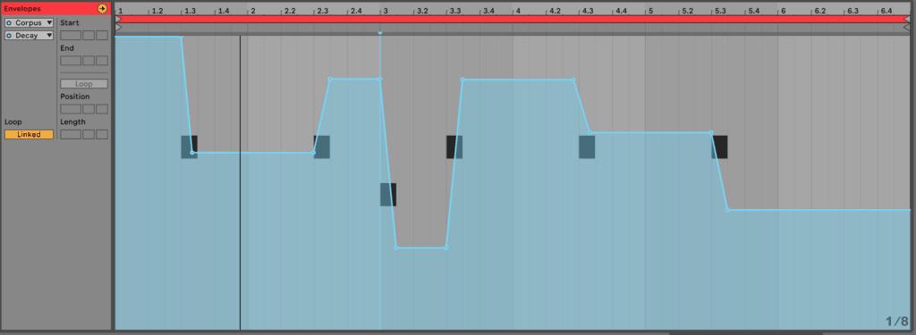 Ableton Live 10 Modulation Envelope