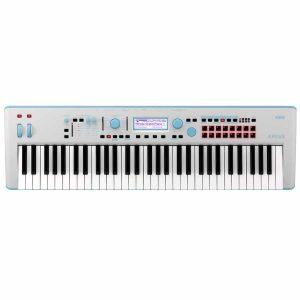 Korg Kross2 61 tasti Sintetizzatore Workstation Grigio Blu