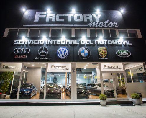 Fachada Európolis Factory Motor