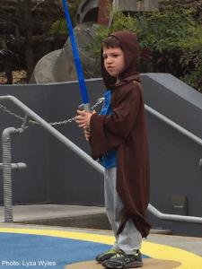 Jedi Lesson at Disney World
