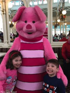 meeting piglet at disney world