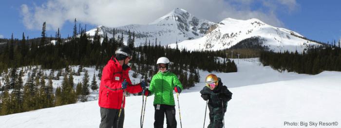 Kids can ski free at big sky, mo