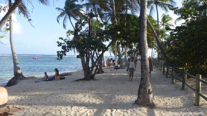 Guadeloupe has lovely beaches