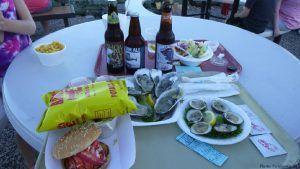 A feast from abbott's in mystic