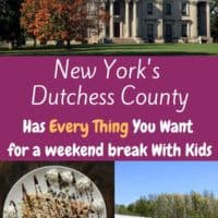 The hudson valley's dutchess country is an easyt weekend destination with kids. Tour historic mansions, watch historic planes fly and eat great local food. #hudsonvalley #weekend #kids #vacation #ideas #thingstodo #food