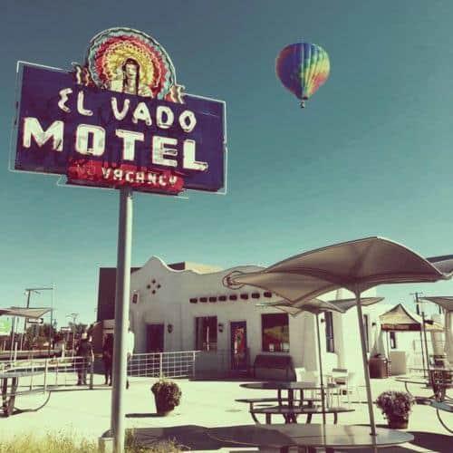The El Vado's vintage neon