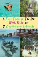 Caribbean family vacation inspiration: 6 fun and unique things to do with kids on antigua, barbados, bahamas, grenada, jamaica, st. Lucia and turks & caicos. #caribbean #beach #vacation #thingstodo #ideas #inspriation #kids