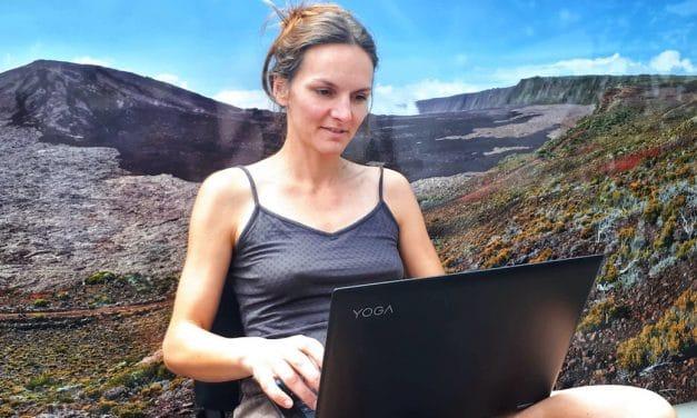 Devenir Semi-Nomade et travailler à son rythme avec la Rédaction Web : Témoignage de Gaëlle