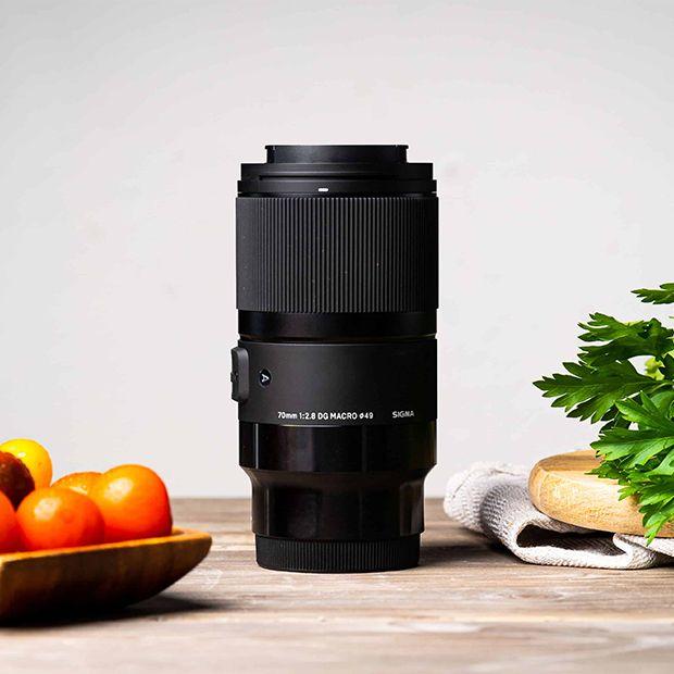 objetivos fotografia alimentos