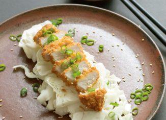 Japanisches Wiener Schnitzel Gusenbauer Geheime Schnatterei