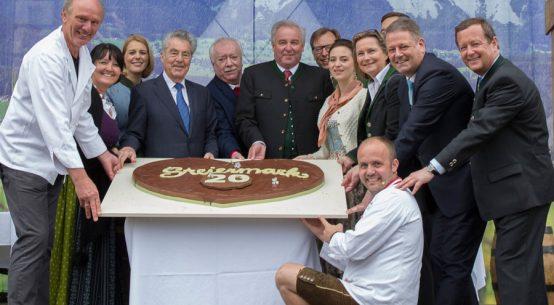 Eröffnung Steiermark Frühling Torte