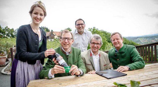 Kooperation Steiermark Tourismus Wein Steiermark